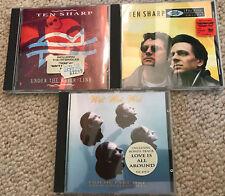 CD-Sammlung TEN SHARP / WET WET WET 3 CDs