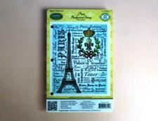 JustRite Background Stamp - Paris