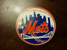 MLB Vintage New York Mets Logo Decal Sticker Great Condition