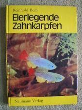 Eierlegende Zahnkarpfen - DDR Buch Fische Aquarium Pflege Zucht Aufzucht