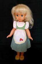 1970's-1980's Ussr Soviet Russia Lenigrushka Factory Plastic Blond Doll