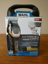 Wahl Clippers Extreme Grip Pro Haircut Kit 24 Piece Free Shipping