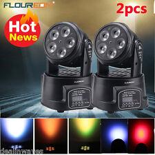 2pc 100W DMX LED RGBW Mini Par Can Moving Head Beam Stage Light DJ Disco Light