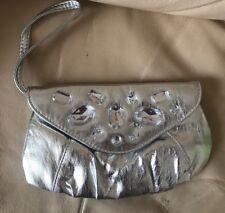Silver and diamanté clutch bag Wedding Party Occasion
