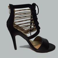 Escarpins torsadé noir élégantes pour femme