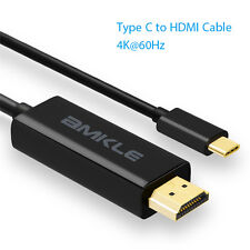 Type C to HDMI Cable 6ft 4K*2K@60Hz USB-C 3.1 Adapter Converter for HDTV LAPTOP