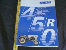 CATALOGO PARTI DI RICAMBIO ORIGINALE TRATTORE FIAT 450 R TRACTOR 1974 1° EDIZ