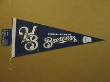 Pioneer League Helena Brewers Vintage Defunct 2007 Team Logo Baseball Pennant