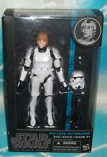 STAR WARS BLACK SERIES 6 INCH #12 EPISODE 4 LUKE IN STORMTROOPER DISGUISE FIGURE