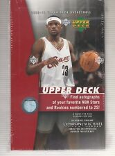2005-06 Upper Deck Basketball Box Hobby Factory Sealed With Box Topper