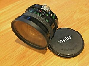 Vivitar 19mm f/3.8 Manual Focus Lens for Nikon AIS Mount - Mint condition