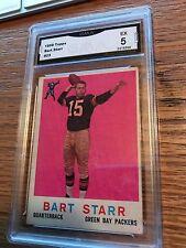 1959 Topps #23 Bart Starr GMA 5 Green Bay Packers Football Card