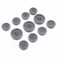 11pcs 15/20mm Thick Grey Swirl Pattern Button Suit Set Bespoke Blazer Sport Coat