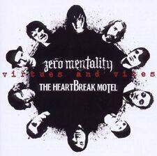 "ZERO MENTALITY / THE HEARTBREAK MOTEL Virtues and vices 2x 7"" (2008 Demons run)"