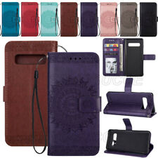 Flip Case Leather Card Wallet Stand Cover For Samsung Galaxy Note20 S20 S10 Plus