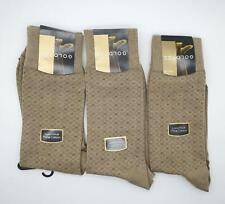 New Men's Gold Toe Luxurious Pima Cotton Socks Reinforced Toe 3 Pairs 6 12 1/2