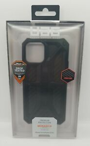 UAG Urban Armor Gear Monarch Series Carbon Fiber Case for iPhone 12 & Pro 12