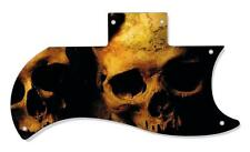 SG 61 Re-Issue Half Face Pickguard Gibson Graphical Guitar Single Ancient Skulls