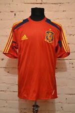 SPAIN NATIONAL TEAM FOOTBALL TRAINING SHIRT JERSEY CAMISETA PLAYER ISSUE ADIDAS