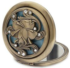 Beauty & The Beast Belle Rose Live Action Film Compact Mirror Authentic Disney