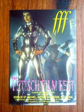 1er FETISH FILM FEST 1999 festival film fetichisme carte postale  postcard