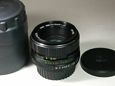 Zenitar-M MC 1.9/50mm #91082382 with Nikon-F bayonet. Infinity focus