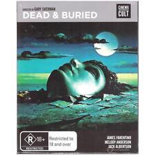 BLU-RAY DEAD & BURIED James Farantino Cinema Cult Horror R18+ 1981 REGION B[BNS]