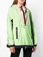 Nike Wmns Windbreaker Archive Jacket New Volt Glow Guava Ice Black AO4552-701