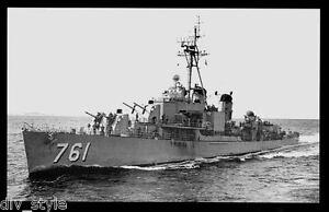 USS Buck DD-761 postcard US Navy Destroyer