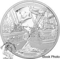 Canada 2013 $50 War of 1812 - HMS Shannon & USS Chesapeak 5 oz Silver Coin