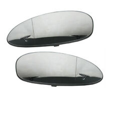LH+RH Wing Mirror Glass Heated Fit For BMW 3 E46 Coupe 2002-05 E90 E91 2006-2009