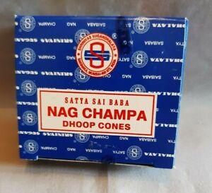 Satya nag champa cone incense; Sai Baba; air freshner