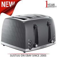 Russell Hobbs 26073 4 Scheiben Toaster│Zeitgenössisch Wabe Design │ Wide Slots