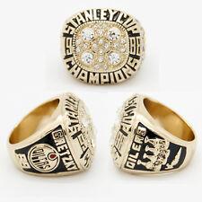 NHL STANLEY CUP REPLICA CHAMPIONSHIP RING EDMONTON OILERS WAYNE GRETZKY