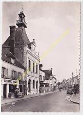 CPSM 78270 BONNIERES SUR SEINE La Mairie & Epicerie Edit A.P.