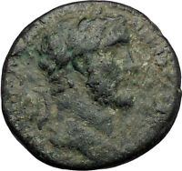 ANTONINUS PIUS 145AD Antioch on the Orontes Authentic Ancient Roman Coin i56369