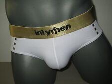 intymen Microfiber Bikini Brief Mesh Soul White INJ023 (L)