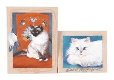 REALISM Art PATRICIA HANSEN PORTRAIT Original ART Painting Cat Kitten Velasquez