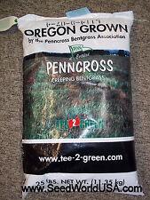 Penncross Bentgrass Seed 25 Lbs - Plants 1 Acre (Certified)