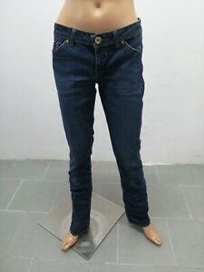 Jeans HILFIGER DENIM Donna taglia size 30 pantalone donna pants woman cotone5755