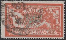 "FRANCE STAMP TIMBRE N° 145 c "" MERSON 2F VARIETE CASSURE ECUSSON "" OBLITERE TB"