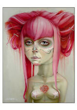 Day of the Dead 1 Leslie Ditto Art Print 13x17