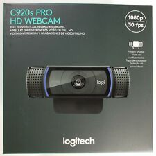 NEW Logitech C920s Pro HD 1080p Webcam with Privacy Shutter 🔥 FAST SHIPPING! 🔥