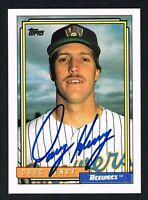 Doug Henry #776 signed autograph auto 1992 Topps Baseball Trading Card