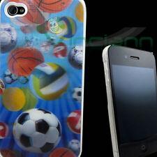 Custodia cover 4D rigida PALLONI per Apple iPhone 4
