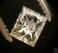 Certed 0.40 ct Rectangular Princess cut diamond G VS1