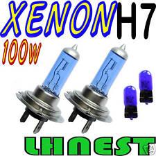 H7 100w Xenon Super White bombillas & 501 bombillas para todos los coches