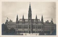 Postcard Austria Vienna Wien Rathaus City Hall ca 1920s RPPC Real Photo MINT