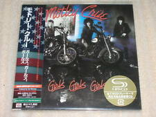 MOTLEY CRUE girls girls girls JAPAN mini lp SHM CD SEAL