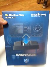 SiriusXM Radio Dock and Play Home Kit - XADH1 - Brand New / Free Shipping